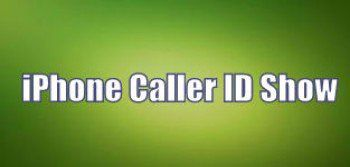 iPhone Caller ID Show