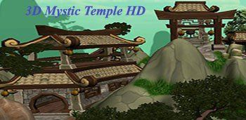 3D Mystic Temple HD