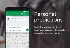 SwiftKey 3 Keyboard Скриншот