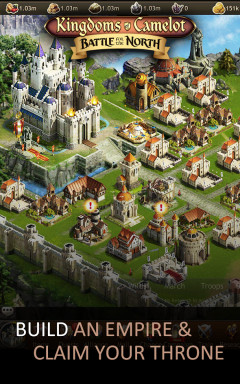 Kingdoms of Camelot: Battle Скриншот