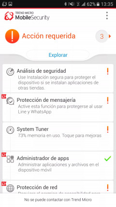 Trend Micro Mobile Security & Antivirus 6.0 Скриншот