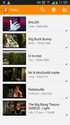 VLC for Android 1.0.0 Скриншот