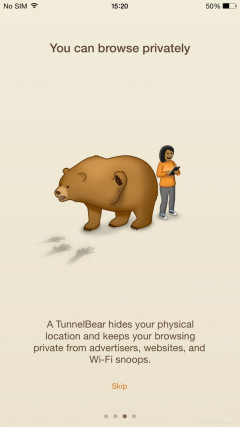 TunnelBear VPN Скриншот
