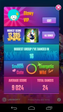 Just Dance Now Скриншот