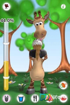 Talking Gina the Giraffe Скриншот