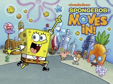 Sponge Bob moves in