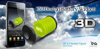 3D Design Battery Widget