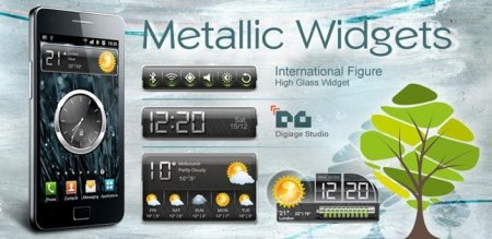 HD Metallic Widgets R2