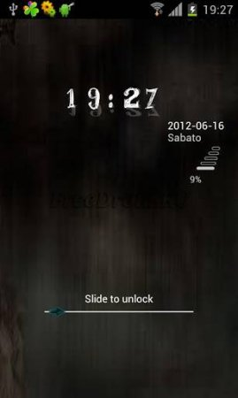 Dark GO Locker Theme