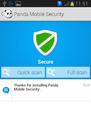 Panda Mobile Security 0.9.0