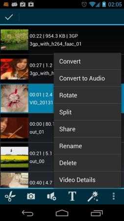 AndroVid Pro Video Editor 2.4.7.2