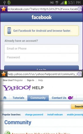 Purple Dual Browser 2.0.3